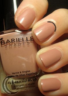 ThePolishHoochie: Barielle Nude and Naughty Fall 2013 Collection Swatches Beauty Makeup, Beauty Tips, Beauty Hacks, Hair Beauty, Mani Pedi, My Nails, Swatch, Nail Polish, Nail Art