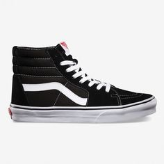 Sk8 hi black and white