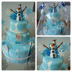 frozen 3d taart Frozen taart | Zelfgemaakte taarten/cupcakes | Pinterest frozen 3d taart