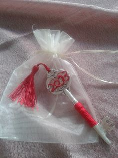3 decoration charms  2013 by dreamwishesetc on Etsy, €20.00