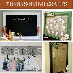 Thanksgiving Crafts! Spend some holiday time crafting! #Thanksgiving #Crafts #DIY