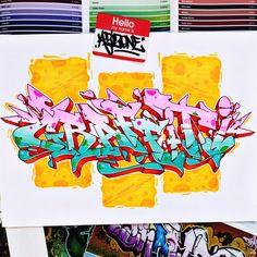 Graffiti by Aizoner Source by cuitlatl Graffiti Alphabet, Graffiti Lettering, Typography, Graffiti Drawing, Graffiti Art, Graffiti Wildstyle, Graffiti Styles, Writing Art, Wild Style