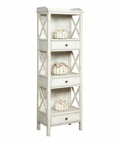 Look what I found on #zulily! White Wood Bookcase #zulilyfinds