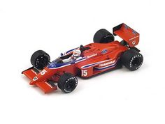 Beatrice Lola THL2 No.15 (Alan Jones - Belgian GP 1986) in Red (1:43 scale by Spark S1788)