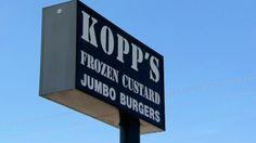 Kopp's Frozen Custard in Greenfield, Wisconsin