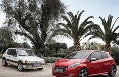Peugeot 205 GTI és Peugeot 208 GTI