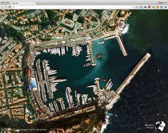 Earth View 將美麗的衛星空拍圖放入 Google 瀏覽器分頁(Chrome 擴充功能)