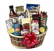 "Grand Tour Basket - Take the ""Grand Tour"" of Cincinnati with this basket of tasty treats!   Product Contents  Montgomery Inn BBQ Sauce Skyline Chili Skyline Chili Oyster Crackers Dee Felice Salsa Queen City Crackers Frisch's Tartar Sauce Izzy's Dusseldorf Mustard Busken Bakery Cookies LaRosa's Spahetti Sauce Haute Chocolate's Lisa Brownie Graeter's Assorted Chocolates Graeter's Honey Toasted Nuts Graeter's Chocolate Gold Coins Haute Chocolate's Chocolate Covered Pretzels  #giftideas…"