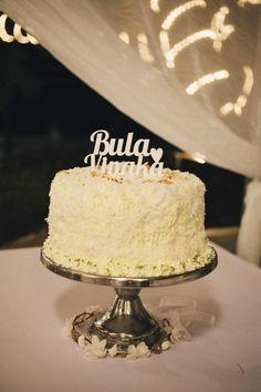 Bula Vinaka Wedding Cake #Fiji #Fijiwedding