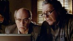 Vince and Dave on the computer. #haven