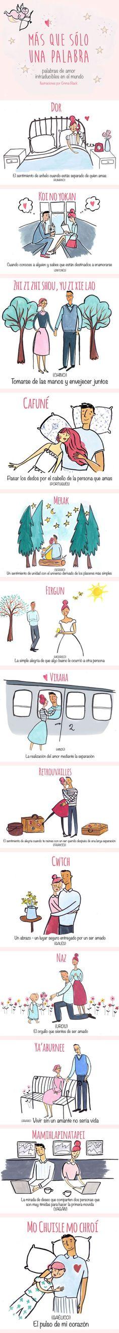 30 palabras intraducibles para hablar de amor en todos los idiomas | Upsocl