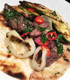 Chimichurri Elk Steaks