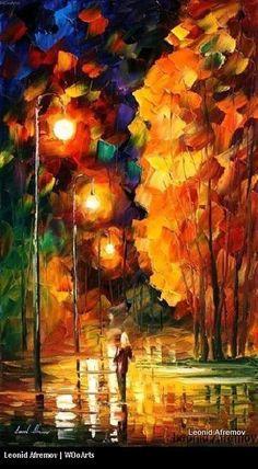 By Artist Painter Leonid Afremov 050