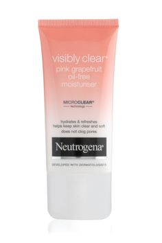 Moisturiser for oily skin - Neutrogena Visibly Clear Pink Grapefruit Oil-Free Moisturiser