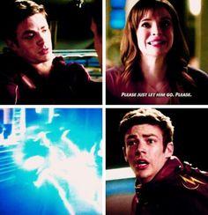 Caitlin protecting Barry #SnowBarry