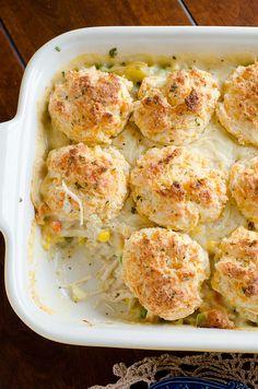 Cheddar Bay Biscuits Chicken Pot Pie