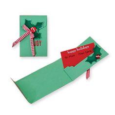 Sizzix Bigz XL Die - Gift Card Holder $39.99    http://www.sizzix.com/product/656307/sizzix-bigz-xl-die-gift-card-holder