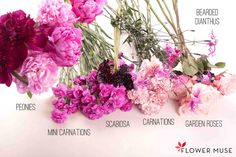 Purple Fuchsia Bouquet. See the full DIY tutorial on Flower Muse blog: http://www.flowermuse.com/blog/purple-fuchsia-bouquet/