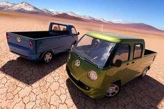 2015 volkswagen transporter combi nostalgic style concept - Quiero una, si son las dos, mejor!