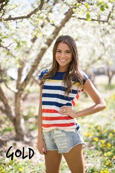 Colorblock Stripe Top- 5 styles! | Jane