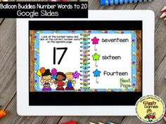 This interactive internet resource makes a fun and educational way to learn or review number words. The game is entertaining, encouraging, and self-checking. Make sure to check out the video preview above to see the game in action!!!***Your download will include a PDF file. Click on the link in the ... Number Words, Sixth Grade, Early Childhood Education, Elementary Math, Math Resources, Special Education, Balloons, Encouragement, Teacher