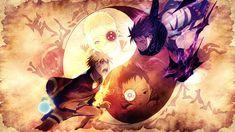 Fonds d'écran Manga Naruto Naruto vs sasuke, l'histoire du destin