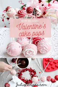 How to make chocolate cake pops covered in white chocolate for Valentine's Day! How to make chocolate cake pops covered in white chocolate for Valentine's Day! We Prepare a Romantic Dinner for Val Valentines Cake Pops Recipe, Valentines Day Chocolates, Valentines Day Cakes, Valentine Crafts, Valentine Ideas, Chocolate Cake Pops, White Chocolate, Chocolate Covered, Purple Velvet Cakes