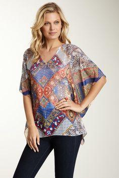 V-Neck Kimono Tunic by Sienna Rose on @HauteLook
