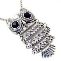 My favorite piece of owl jewelry I own...