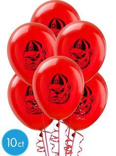 Georgia Bulldogs Balloons - Party City