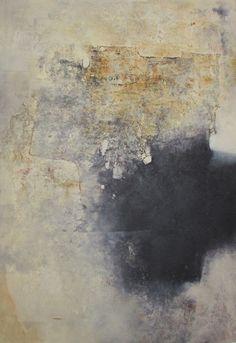 """Alvaro Pérez """"A la orilla del tiempo"""" Acrílico y  mixta sobre lienzo 122 x 181 cm. 2016"""