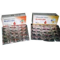 Developed at our W.H.O. G.M.P. and ISO 9000: 2008 certified facilities, Ethamsylate Tablets offered are available under brand name - Hamlet - 250 & Hamlet – 500. As a medicine it is used in treating menorrhagia and controlling abnormal menstrual bleeding of women facing heavy menstrual periods/having excessive bleeding due to intrauterine contraceptive device. It is not suitable for people who are allergic/sensitive to any of the medicine ingredients as well as those having fibroids and…