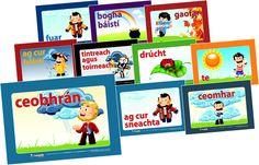 Irish Language : An Aimsir Classroom Signs Irish Language, Classroom Signs, Primary School, Christmas Art, Art Ideas, Projects To Try, Teacher, Posters, Motivation