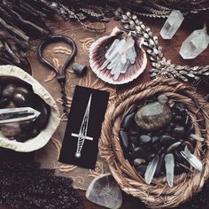 Magical items.