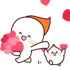 Cartoon Gifs, Cute Cartoon, Emoticon, Emoji, Cute Love Gif, Cute Creatures, Medina Mosque, Anime Art, Hello Kitty