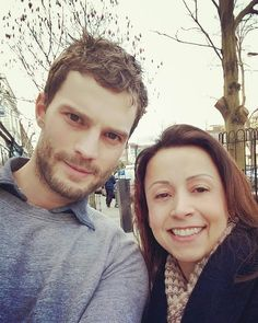 Jamie Dornan Life: New Fan Picture of Jamie in London (February 10)