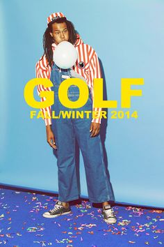 Check out the brand new GOLF Fall/Winter Collection coming out very soon. Let us know what piece you are looking forward too below! Stay tuned to GOLFWANG.