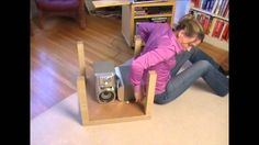 Video: How to get up from the Floor - MacGyver style! Video demonstrating unconventional, creative ways to successfully get up from the floor after a fall.
