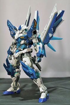 GUNDAM GUY: 1/100 Gundam 00 Ryuu - Custom Build