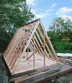 A Frame Shed Plans Lily In 2020 A Frame Cabin Oak Frame House