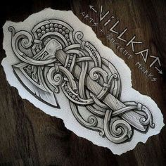 chinese tattoo designs, tattoos for girls, Viking Tattoo Sleeve, Norse Tattoo, Sleeve Tattoos, Armor Tattoo, Art Viking, Viking Symbols, Viking Dragon, Rune Viking Signification, Skink Tattoo
