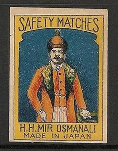 Old-Matchbox-Labels-Japan-India-portrait