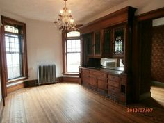 victorian built-in cabinets