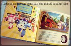 Livre d'histoire enfants - Robocar Poli Qui est le plus grand - Editions du dragon d'Or