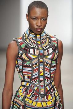 Massaï African fashion