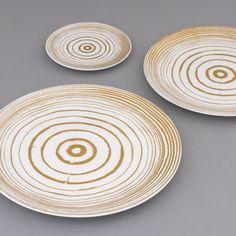Dibbern Golden Timber Plates by Bodo Sperlein