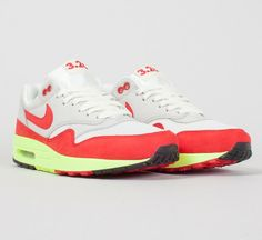 910d15b08946 Nike Air Max 1 Premium  Air Max Day  QS shoes in Sail University Red-Neutral  Grey.