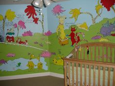 81 Best Nursery Wall Murals Images