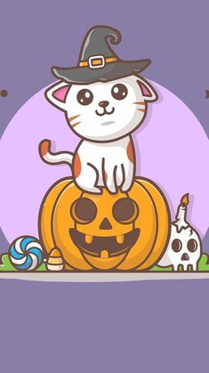 Pumpkin Pictures, Cat Pumpkin, Funny Holidays, Cats, Fictional Characters, Gatos, Funny Vacation, Cat, Fantasy Characters