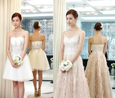 Lee da Hae from Miss Ripley Lee Da Hae, Lee Dong Wook, Hotel King, Bridesmaid Dresses, Wedding Dresses, Sweet Girls, Wedding Makeup, My Girl, Marriage